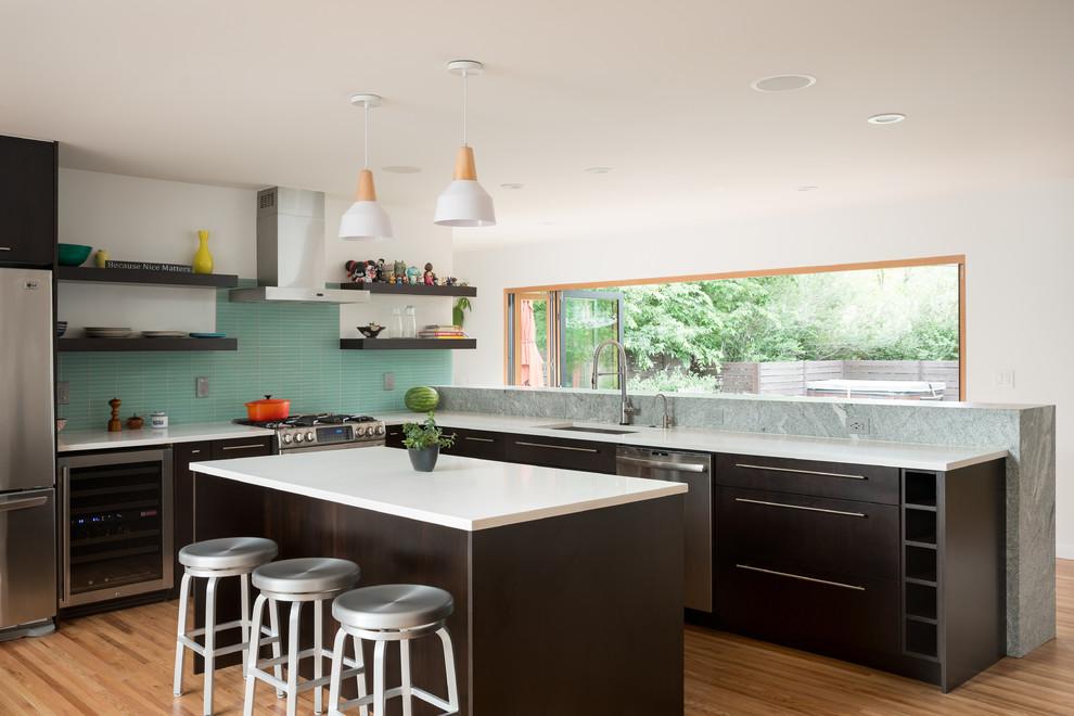 طراحی داخلی آشپزخانه مدرن