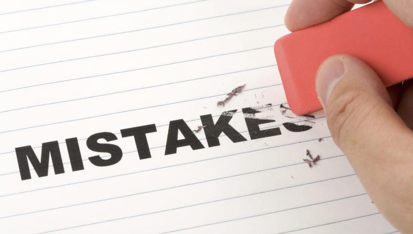 اشتباهات رایج در زمان بازسازی