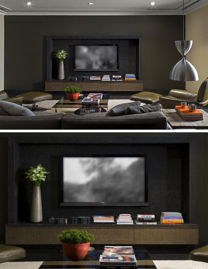 طراحی دیوار پشت تلویزیون