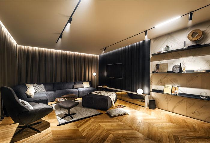 طراحی دکوراسیون خانه مجردی
