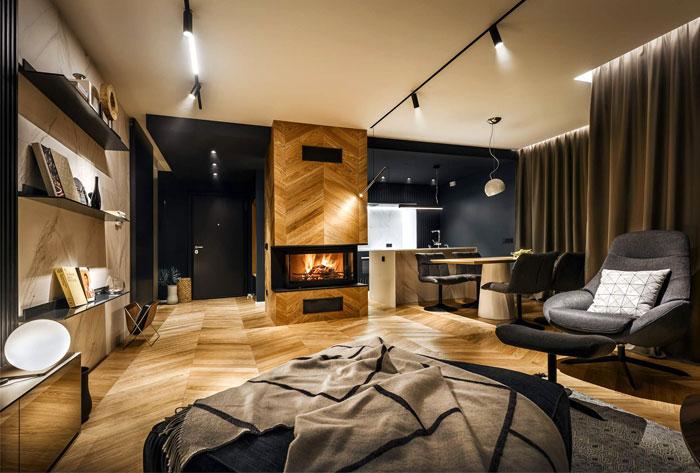 طراحی دکوراسیون خانه مجردی - طراحی داخلی خانه مجردی - طراحی داخلی خانه