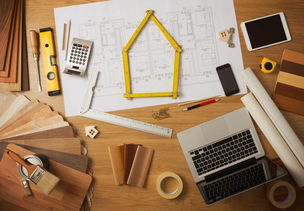 مراحل بازسازی خانه