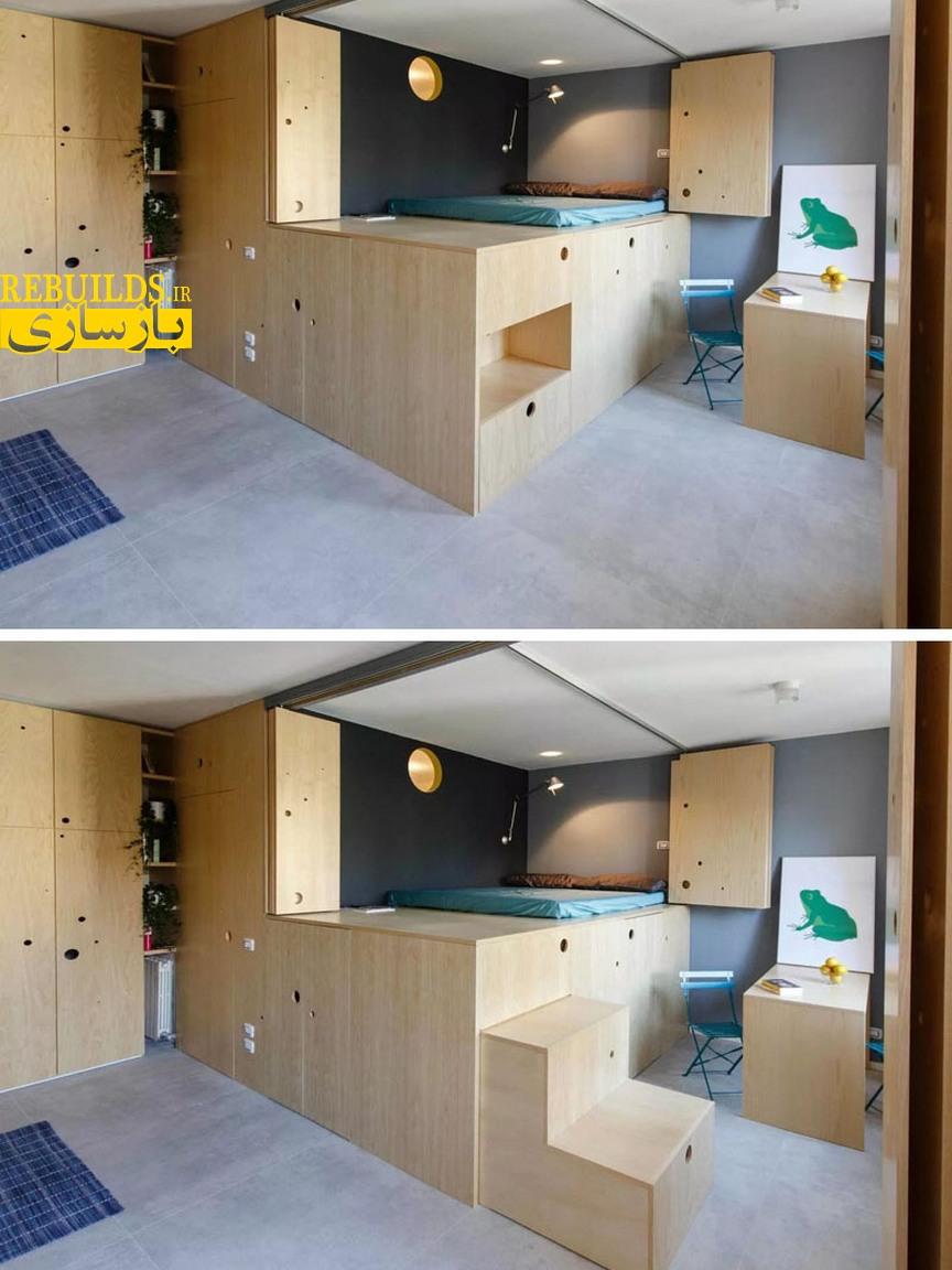 طراحی دکور خانه 30 متر مربعی