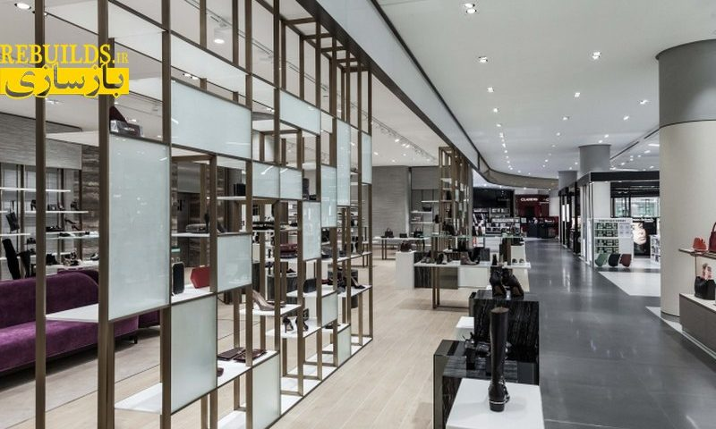 طراحی دکور فروشگاه پوشاک - طراحی فروشگاه پوشاک - دکور فروشگاه پوشاک