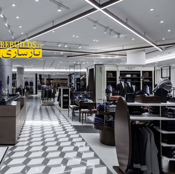 طراحی دکور فروشگاه پوشاک