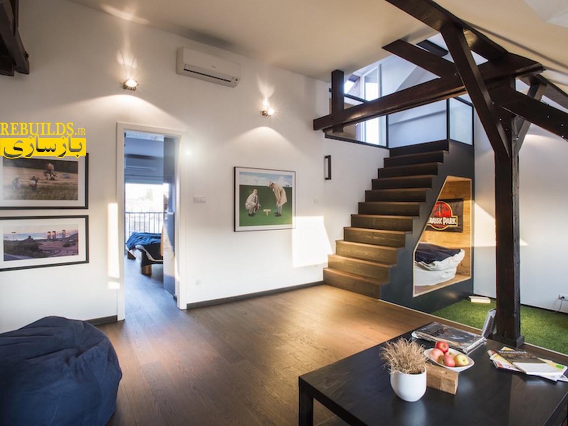 طراحی دکوراسیون و بازسازی منزل مسکونی