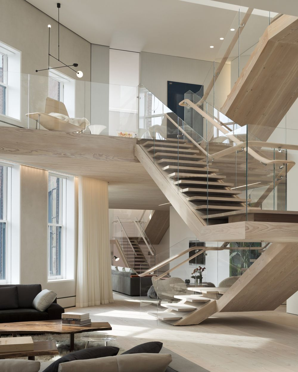 طراحی پله ساختمان
