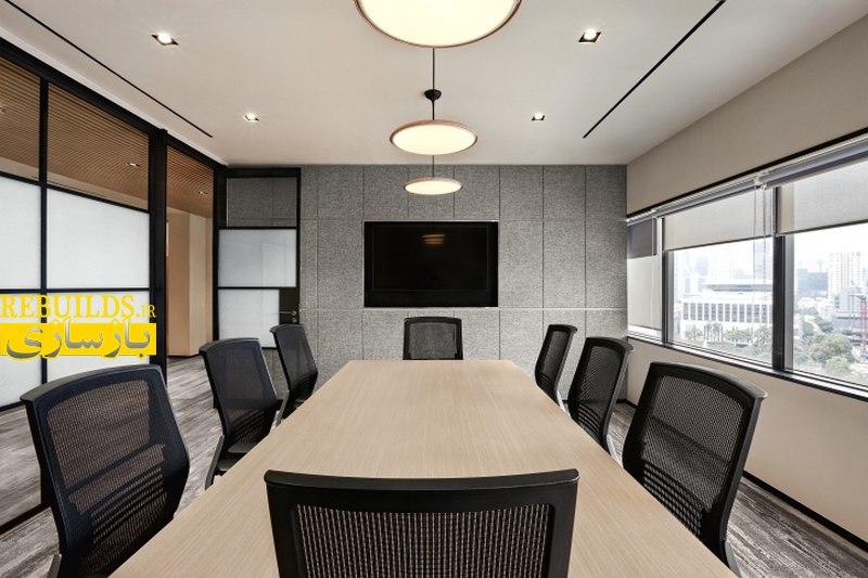 طراحی داخلی شرکت بازرگانی