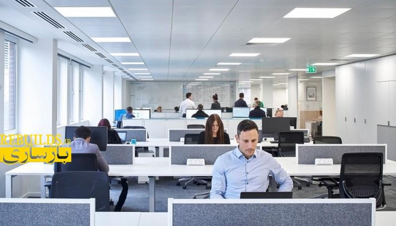 طراحی داخلی و دکوراسیون دفتر کار