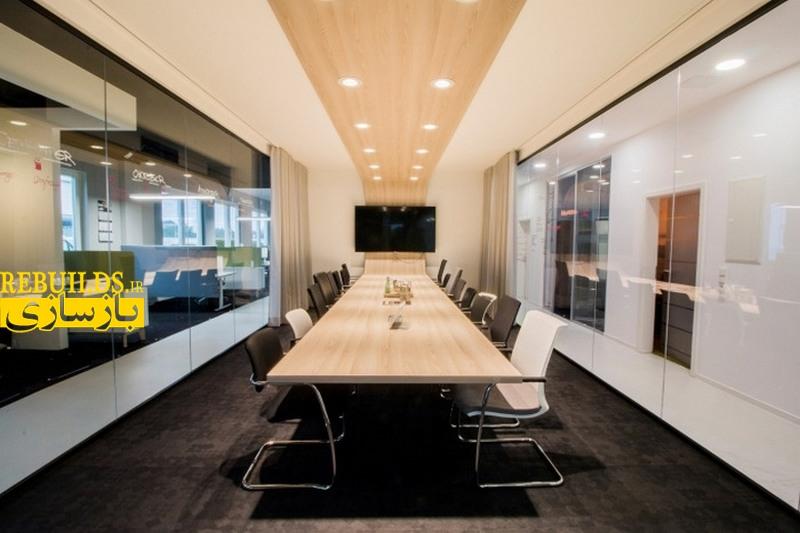 بازسازی و طراحی دکوراسیون دفتر کار