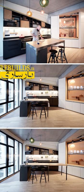 طراحی آپارتمان برای خانواده 4 نفره