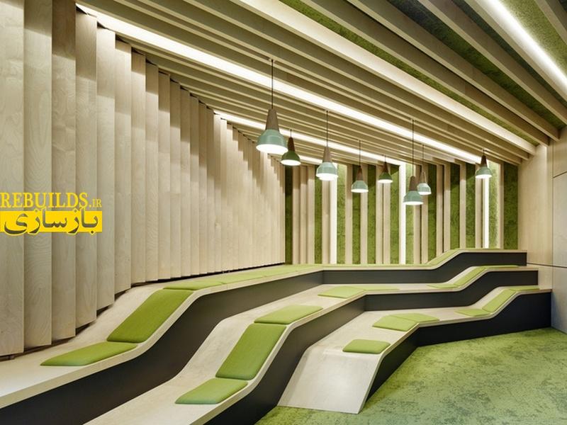 بازسازی ساختمان شرکت تولید نرم افزار