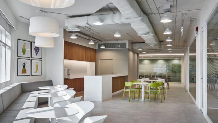 معماری داخلی شرکت مواد غذایی