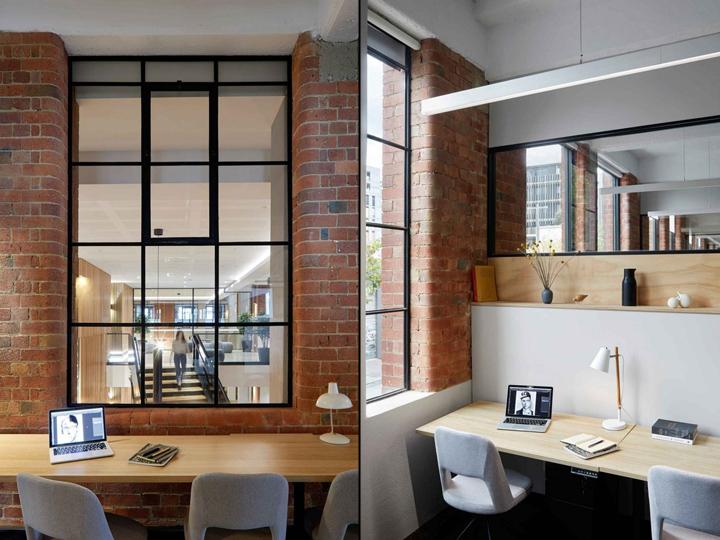 دیزاین شرکت با آجر