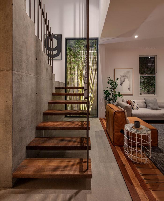 معماری داخلی خانه دوبلکس