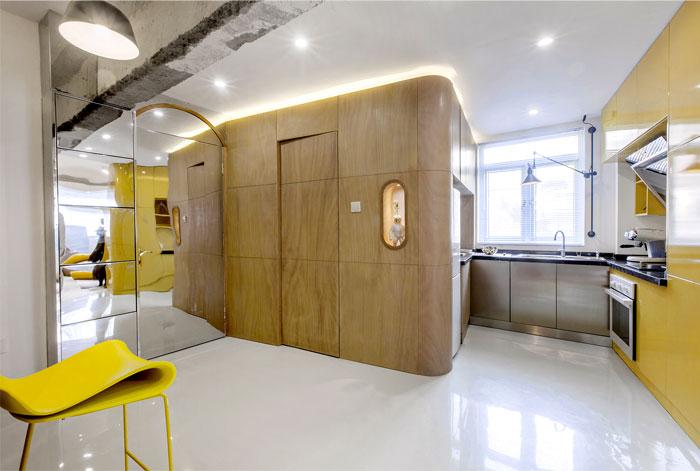 معماری داخلی خانه 60 متری