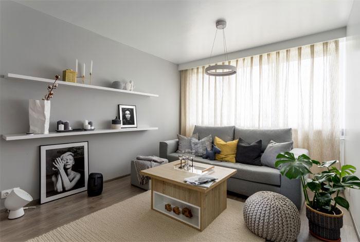 طراحی و بازسازی آپارتمان کوچک