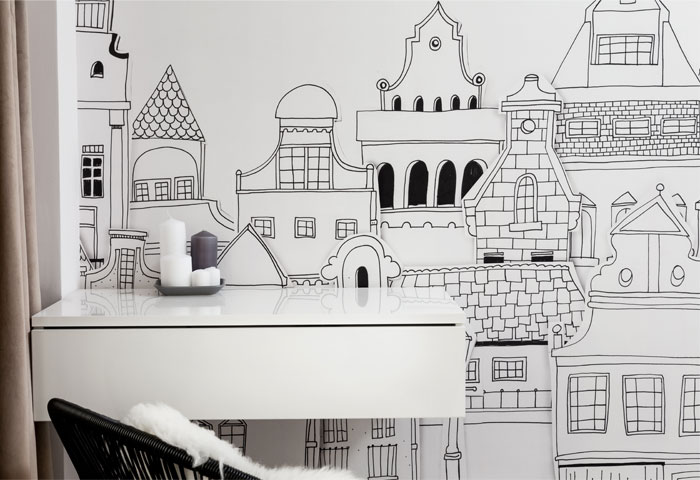 دیزاین داخلی آپارتمان کوچک