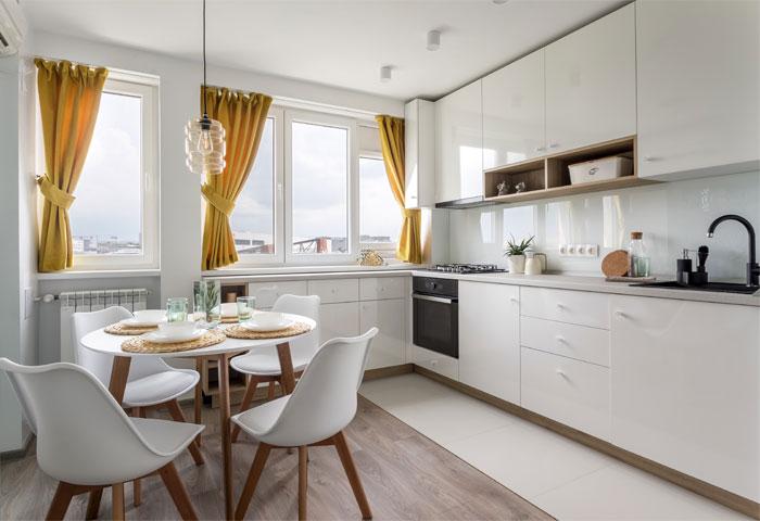 معماری داخلی آپارتمان کوچک