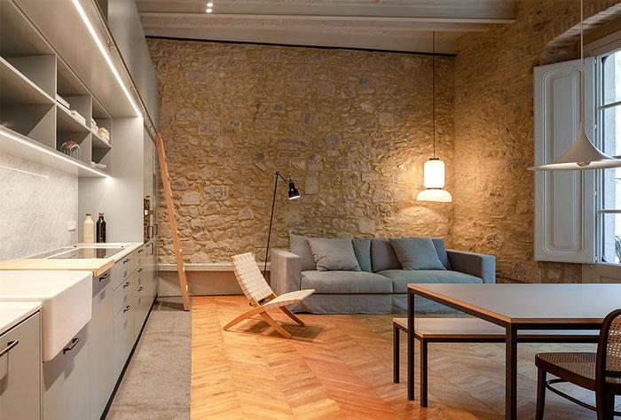 طراحی و بازسازی خانه 100 متری